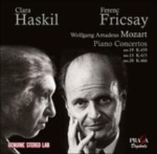 Concerti per pianoforte n.13, n.19 - CD Audio di Clara Haskil