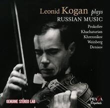 Plays Russian Music - CD Audio di Sergej Sergeevic Prokofiev,Aram Khachaturian,Tikhon Khrennikov,Leonid Kogan