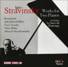 Works for 2 Pianos - CD Audio