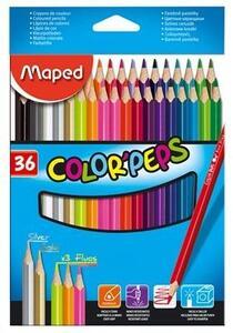 Pastelli colorati Color' Peps in scatola 36 pezzi