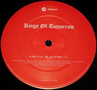 My Love Is Real - Vinile LP di Kings of Tomorrow