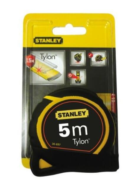 Stanley 0-30-697 rotella metrica 5 m Nero, Giallo - 4