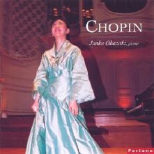 Junko Okazaki suona Chopin - CD Audio di Fryderyk Franciszek Chopin,Junko Okazaki