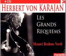 Les Grands Requiems - CD Audio di Herbert Von Karajan