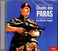 Chants des Paras. Les Bérets Rouges - CD Audio