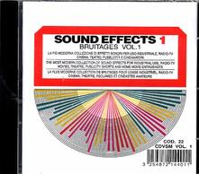 Sound Effects. Bruitaeges - CD Audio