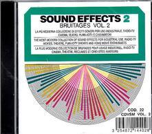 Sound Effects. Bruitaeges vol.2 - CD Audio