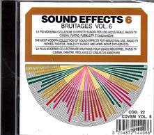 Sound Effects. Bruitaeges vol.6 - CD Audio
