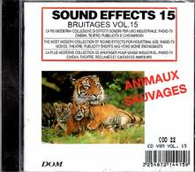 Sound Effects. Sauvages Animales - CD Audio