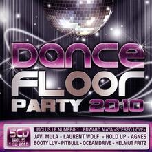Dance Floor Party 2010 - CD Audio
