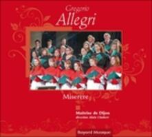 Miserere - CD Audio di Gregorio Allegri