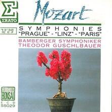 Sinfonia n.31 K297-300a Parigi in Re - CD Audio di Wolfgang Amadeus Mozart