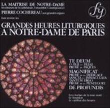 Grandes Heures Liturgique - CD Audio di Pierre Cochereau