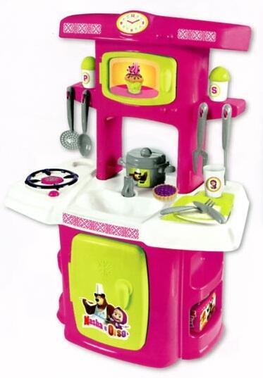Masha e orso prima cucina con 14 accessori smoby for Masha giocattolo
