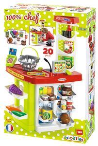 100% Chef Supermercato Con Registratore Di Cassa 20 Pz