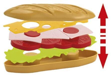 Cesto Set Sandwich Con Vassoio - 2