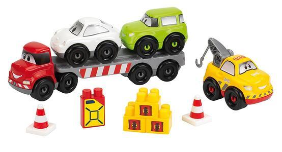 Carroattrezzi con 2 Auto e Mezzo Soccorso - 4