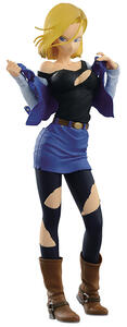 Action Figure DragonBall Z. Android 18 Vers. A