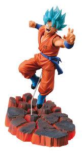 Giocattolo Figure Dragonball Goku S.S.God Battle Ed Banpresto