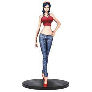 Giocattolo Figure One Piece Nico Robin Jeans. Red Banpresto