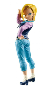Giocattolo Figure Dragonball Androide C18 Banpresto 1