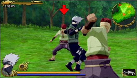 Videogioco Naruto Shippuden: Legends: Akatsuki Rising Sony PSP 1