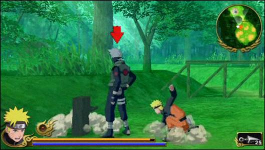 Videogioco Naruto Shippuden: Legends: Akatsuki Rising Sony PSP 4