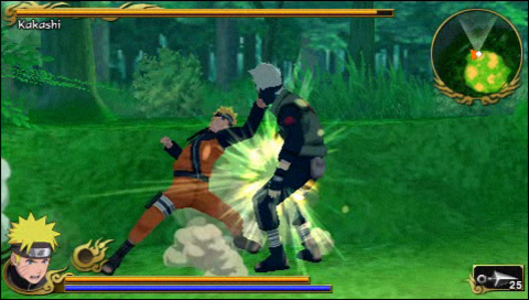 Videogioco Naruto Shippuden: Legends: Akatsuki Rising Sony PSP 5