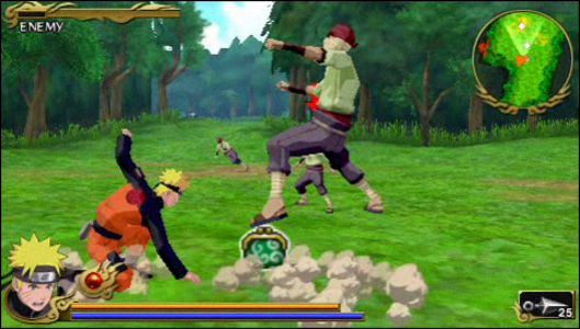 Videogioco Naruto Shippuden: Legends: Akatsuki Rising Sony PSP 7