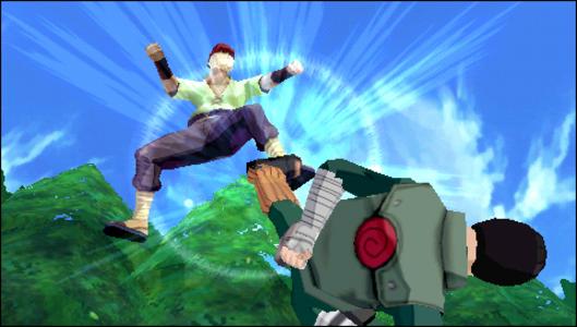 Videogioco Naruto Shippuden: Legends: Akatsuki Rising Sony PSP 9