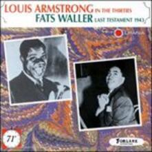 Louis Aemstrong e Fats Waller - CD Audio di Louis Armstrong,Fats Waller