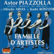 Famille d'artistes - CD Audio di Richard Galliano