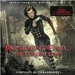 Cover CD Colonna sonora Resident Evil: Retribution