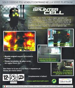 Tom Clancy's Splinter Cell Platimum - 2
