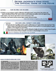 Videogioco Peter Jackson's King Kong: The Official Game of the Movie KOL Personal Computer 1