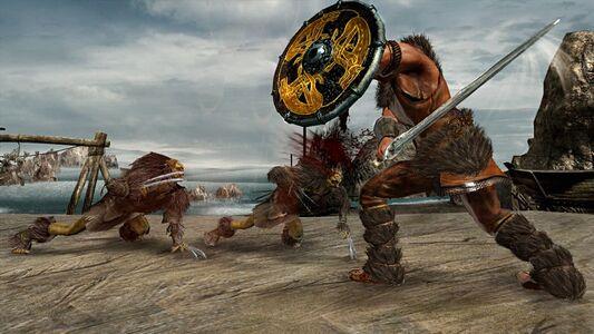 Videogioco Leggenda di Beowulf - il videogioco Xbox 360 2