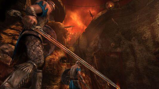 Videogioco Leggenda di Beowulf - il videogioco Xbox 360 3
