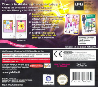 Videogioco Girl's Life Crea La Tua Moda Nintendo DS 3