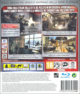 Videogioco Tom Clancy's Rainbow Six Vegas 2 Complete Edition Platinum PlayStation3 1