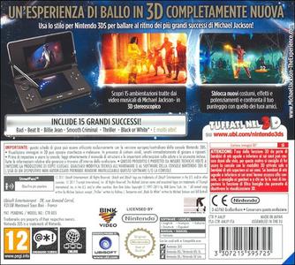 Videogioco Michael Jackson: The Experience Nintendo 3DS 1