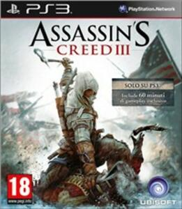 Assassin's Creed III Bonus Edition Day One