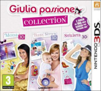 Videogioco Giulia Passione Compilation: Stilista, Moda e Baby Sitter Nintendo 3DS