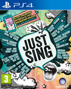 Videogioco Just Sing - PS4 PlayStation4