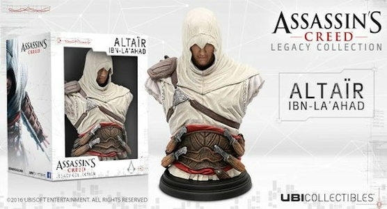 Giocattolo Assassin's Creed Busto Altair Ubisoft 1