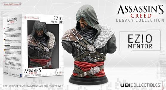 Giocattolo Assassin's Creed Busto Ezio Mentor Ubisoft 1