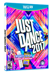 Ubisoft Just Dance 2017, Wii U videogioco Basic Francese