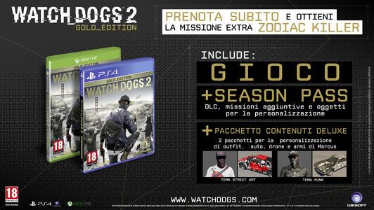 Watch_Dogs 2 (Gold Edition), include Season Pass - XONE - 2