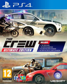 Ubisoft The Crew Ultimate Edition, PlayStation 4 videogioco Francese