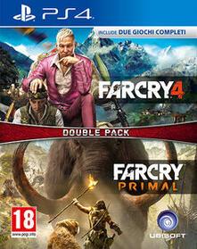 Ubisoft Far Cry 4 + Far Cry Primal videogioco PlayStation 4 Basic Francese