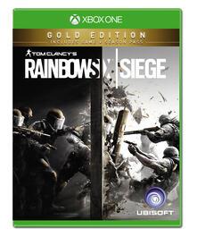 Ubisoft Tom Clancy's Rainbow Six Siege, Gold Edition, Xbox One videogioco Oro Francese